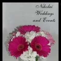 Reception, Flowers & Decor, white, pink, Flowers, Hydrangea, Daisies, Hot, Small, Nikolai weddings and events
