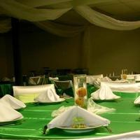 Reception, Flowers & Decor, Favors & Gifts, Cakes, white, green, cake, Favors, Peach, Linens, Decorations, Plaid planning
