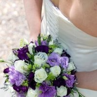 Flowers & Decor, white, purple, green, Bride Bouquets, Flowers, Flower, Bouquet