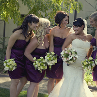 Flowers & Decor, Bridesmaids, Bridesmaids Dresses, Wedding Dresses, Fashion, purple, green, dress, Bridesmaid Bouquets, Flowers, Jenn king photography, Flower Wedding Dresses