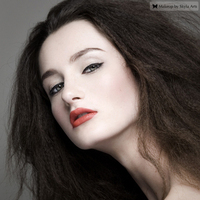 Beauty, red, brown, black, gold, Makeup, Hair, Skyla arts makeup and photography