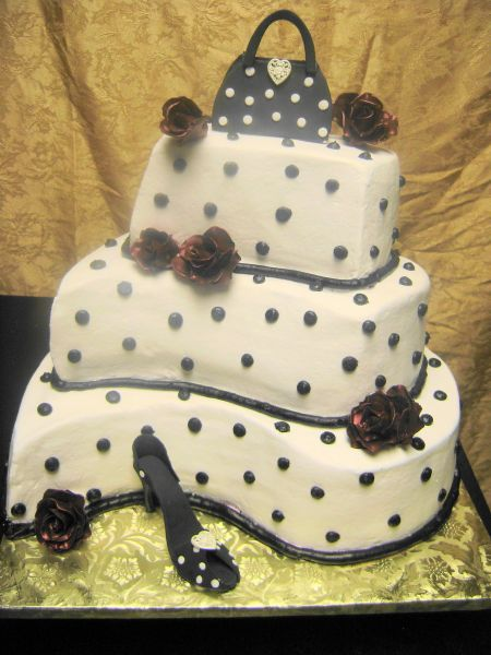 Cakes, cake, Fondant, Buttercream, Shoe, Purse, Icing, Delectable delights by debbie