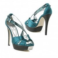 Shoes, Fashion, blue, Teal, Satin, satin wedding dresses