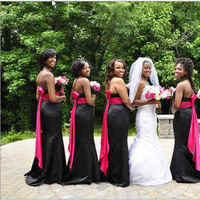 pink, black, silver, J smith co memorable events