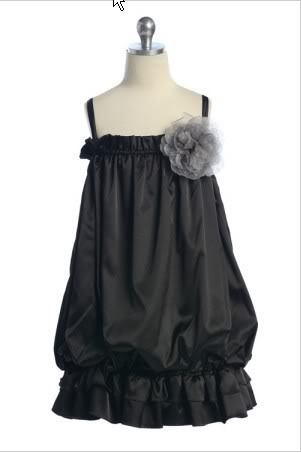 Flower Girl Dresses, Wedding Dresses, Fashion, black, dress, Flower girl