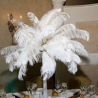 Beauty, Reception, Flowers & Decor, white, Feathers, Centerpieces, Flowers, Centerpiece, Feather, Cynthia ross affairs