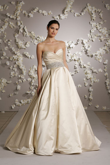 Wedding Dresses, Ball Gown Wedding Dresses, Fashion, white, dress, Ballgown, Belt, Lazaro, Pockets, Volles bridal and boutique