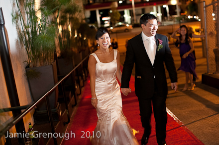 Reception, Flowers & Decor, red, Carpet, Jamie, Grenough, Drerenee