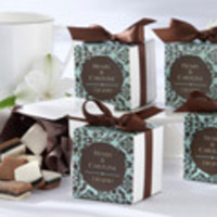 Favors & Gifts, blue, brown, Favors, Wedding, Mirandas favor boutique