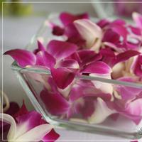 Reception, Flowers & Decor, Photography, Destinations, yellow, purple, Hawaii, Flowers, Wedding, Party, B, Katie