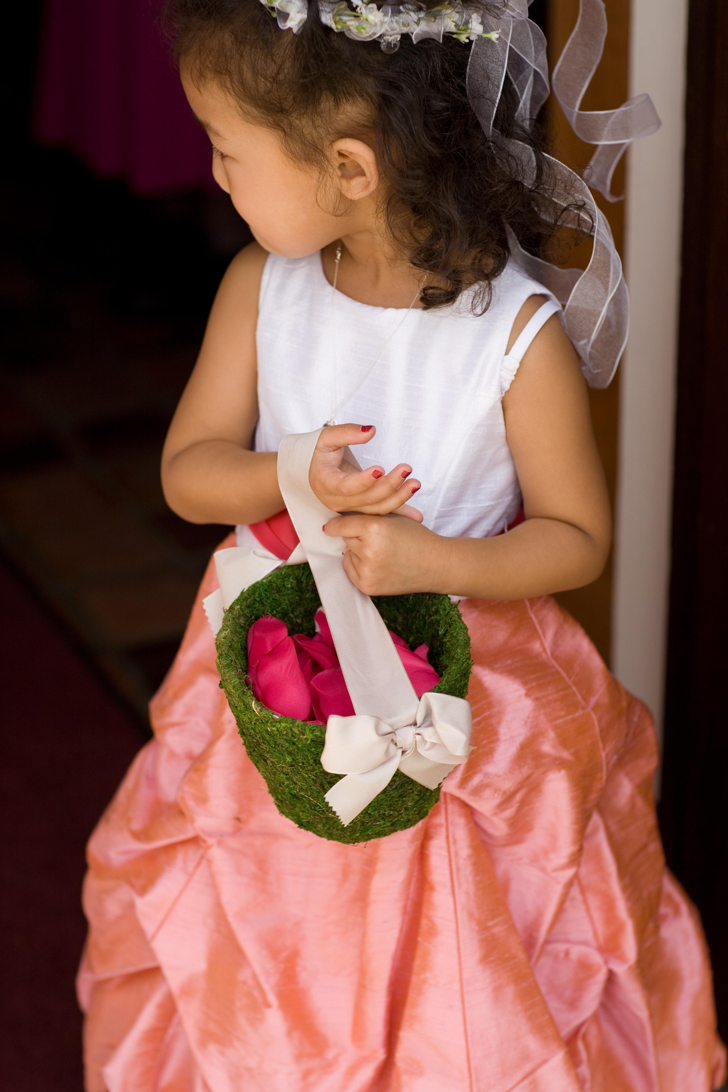 Beauty, Ceremony, Inspiration, Flowers & Decor, Flower Girl Dresses, Wedding Dresses, Fashion, pink, dress, Ceremony Flowers, Flowers, Hair, Flower girl, Board, Green apple photo, Flower Wedding Dresses