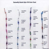 Jewelry, white, yellow, orange, pink, red, purple, blue, green, brown, black, silver, gold, Bracelets, Necklaces, Earrings, Bride, Bridesmaid, Colors, Necklace, Damselfly studio