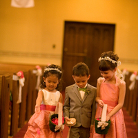 Ceremony, Inspiration, Flowers & Decor, Bridesmaids, Bridesmaids Dresses, Flower Girl Dresses, Wedding Dresses, Fashion, pink, silver, dress, Ceremony Flowers, Bridesmaid Bouquets, Flowers, Flower girl, Board, Green apple photo, Flower Wedding Dresses