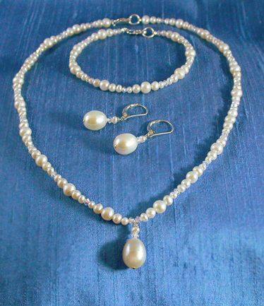 Jewelry, white, silver, Necklaces, Earrings, Bride, Wedding, Necklace, Blush, Damselfly studio