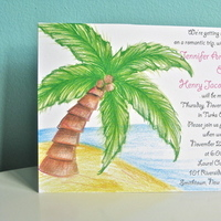 Stationery, Destinations, invitation, Invitations, Custom, Destination, Unique, Jillybean design