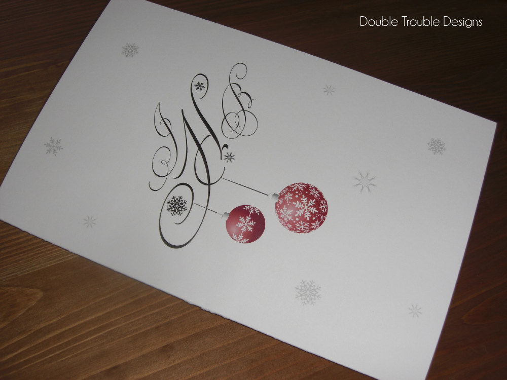 Winter, Program, Book, Snowflake, Double trouble designs-custom monograms and more