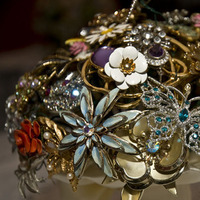 Inspiration, Jewelry, Brooches, Vintage, Bouquet, Bridal, Board, Brooch, Vintage brooch bridal bouquets