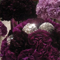 Flowers & Decor, purple, Centerpieces, Flowers, Centerpiece, Carnation