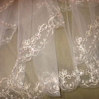 Wedding Dresses, Veils, Fashion, white, silver, dress, Veil