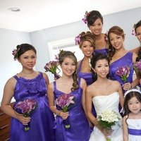 Beauty, purple, Makeup, Updo, Hair, Bridal, Bridemaids, Updos, A-list makeup