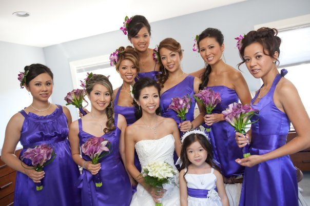 Beauty, purple, Makeup, Updo, Hair, Bridal, Bridemaids, Updos, A-list makeup