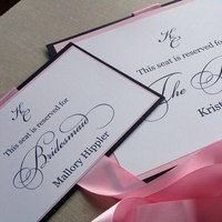 Inspiration, Bridesmaids, Bridesmaids Dresses, Stationery, Fashion, pink, black, Invitations, Bridesmaid, Board, Chair, Sign, 2bsquared designs