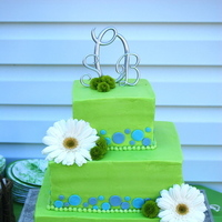 Cakes, blue, green, cake, Occasionally cake
