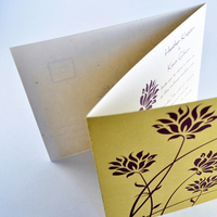 Inspiration, Stationery, white, purple, green, invitation, Eco-Friendly, Garden Wedding Invitations, Invitations, Wedding, Unique, Board, Down-to-earth paperworks