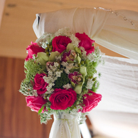 Ceremony, Flowers & Decor, pink, green, Ceremony Flowers, Flowers, Florals, Canopy, Seed floral couture