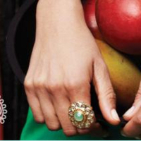 Jewelry, green, silver, gold, Rings, Bangles, Stella dot - independent stylist