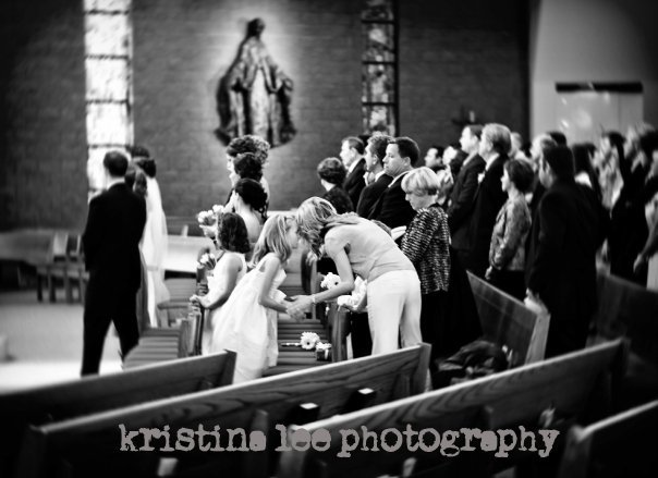 Ceremony, Inspiration, Flowers & Decor, white, black, Flower, Girl, Detail, Church, Board, Kristina lee photography