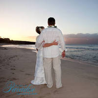 Ceremony, Flowers & Decor, Destinations, white, Hawaii, Bride, Groom, Wedding, Sunset, Maui, Aisles in paradise