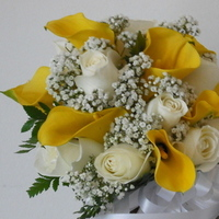 Flowers & Decor, white, yellow, Bride Bouquets, Flowers, Bouquet, Allenwilliams events