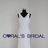 Wedding Dresses, Beach Wedding Dresses, Fashion, white, dress, Beach, Wedding, Bridal, Chiffon, Corals bridal, Corals, Chiffon Wedding Dresses