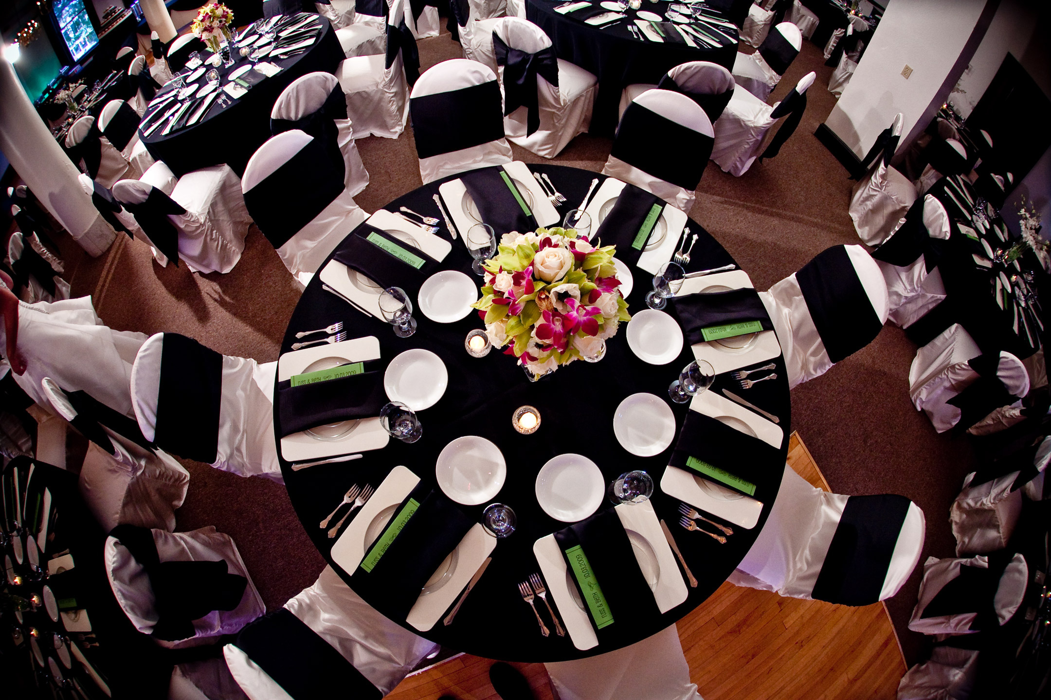 Inspiration, Reception, Flowers & Decor, white, green, black, Board, llc, Virtuous events