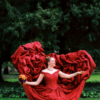 Wedding Dresses, Fashion, red, dress, Bride, Portrait, Wedding, Bridal, Gay, Oakland, Lesbian, Laura turbow