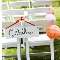 Ceremony, Flowers & Decor, white, orange, pink, Paper lanterns