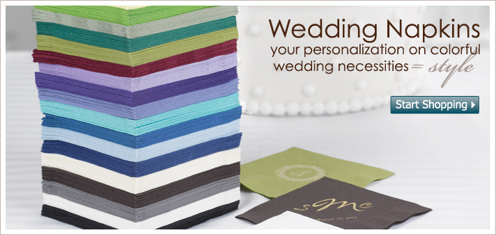 Inspiration, Reception, Flowers & Decor, white, yellow, orange, pink, red, purple, blue, green, brown, black, silver, Wedding, Board, Napkins, Rexcraft