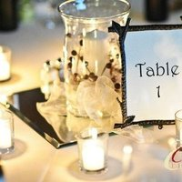 Reception, Flowers & Decor, Photography, Centerpieces, Candles, Table Numbers, Centerpiece, Table, Wine, Image, Woods, Cardens photography, Cardens