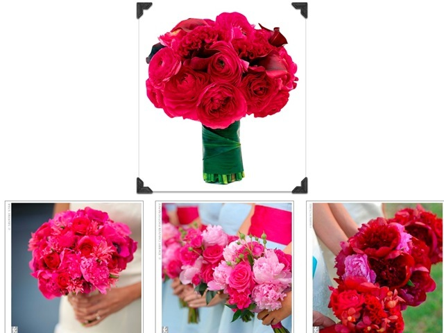 Flowers & Decor, pink, Round, Flowers, Bright, Bouquets
