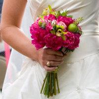 Flowers & Decor, pink, green, Bride Bouquets, Bridesmaid Bouquets, Flowers, Bouquet, Bridesmaid, Bright