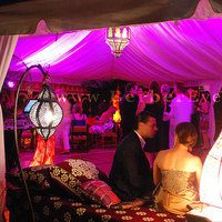 Reception, Flowers & Decor, pink, red, Wedding, Tent, Moroccan