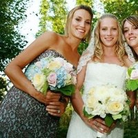 Flowers & Decor, white, Bride Bouquets, Bridesmaid Bouquets, Flowers, Bouquet, Bridesmaid, Bridal, Buds blooms