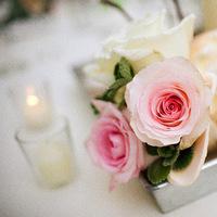 Inspiration, Reception, Flowers & Decor, pink, Centerpieces, Flowers, Centerpiece, Rose, Board, Krissy davis photography