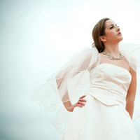 Beauty, Jewelry, Wedding Dresses, Veils, Fashion, white, blue, silver, dress, Makeup, Veil, Hair, Bridal, llc, Reminisce photography design