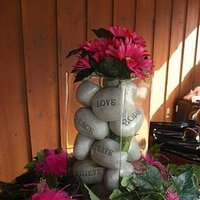 Reception, Flowers & Decor, pink, Fritzs catering
