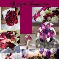 Inspiration, Flowers & Decor, pink, red, purple, Flowers, Board