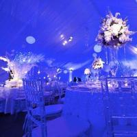 Reception, Flowers & Decor, white, blue, silver, Centerpieces, Winter, Modern, Flowers, Modern Wedding Flowers & Decor, Centerpiece, Bling, Jennifer j events