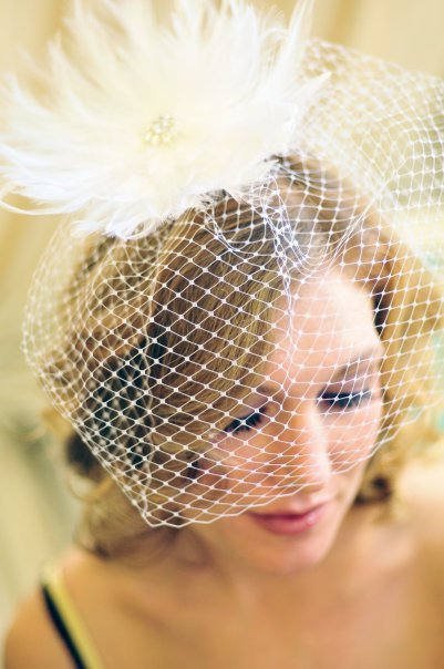 Beauty, Ceremony, Reception, Flowers & Decor, Bridesmaids, Bridesmaids Dresses, Veils, Fashion, white, silver, Feathers, Comb, Veil, Hair, Bridal, Crystal, Birdcage, Rhinestone, Fascinator, Clip, Feather, Tessa kim, Tesakim, Feather Wedding Dresses