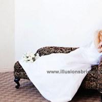 Beauty, Veils, Fashion, white, silver, Veil, Hair, Bridal, Illusions bridal veils